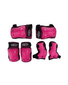Set Protezioni Rosa Pz 3