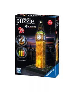 Ravensburger 12588 - Big Ben Night Edition Puzzle 3D con LED