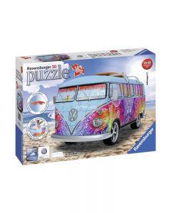 Ravensburger 12527 - Puzzle 3D Camper Volkswagen Indian 162 pezzi