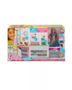 Barbie-FRH73 - Cucina da Sogno con Bambola