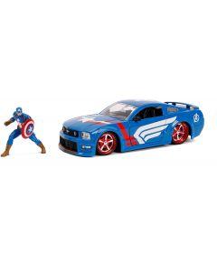 Capitan America Auto 1:24 con personaggio