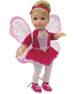Amore Mio Ballerina Butterfly Bambola, GG71301