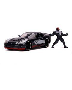 Venom Auto 1:24 con personaggio