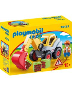 Playmobil - Escavatore 1.2.3