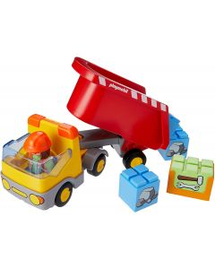 Playmobil 1.2.3 Camion del Cantiere