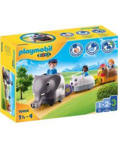 PLAYMOBIL 1.2.3 - Trenino Degli Animali