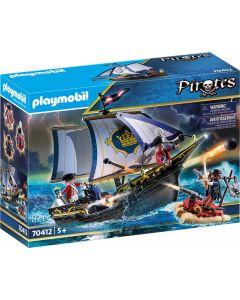 Playmobil Pirates 70412 - Nave Della Marina Reale