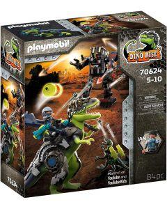 Playmobil T-Rex: Battaglia tra Giganti - 70624