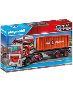 PLAYMOBIL City Action 70771 Camion con Rimorchio