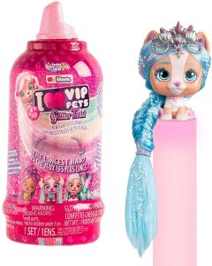 VIP PETS Glitter Twist - Bambola a Sorpresa, Modelli Assortiti