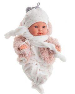 Bambolotto Reborn Kika con Tutina Inverno - Antonio Juan AJ11019