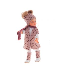 Bambola Emily Con Sciarpa cm 33 - Antonio Juan AJ25196