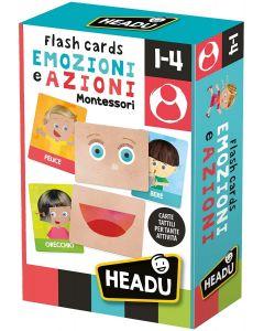 Headu Flashcards Montessori Emozioni e Azioni, IT23103