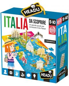 Headu- Italia da Scoprire Puzzle, IT23110