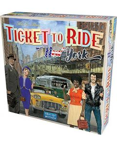 Ticket To Ride New York - Asmodee 48513