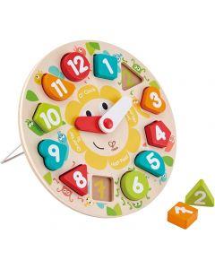 Hape Puzzle Orologio Puzzle E1622