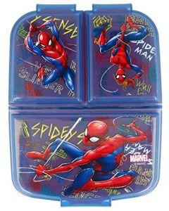 Spiderman Porta merenda a 3 Scomparti - Real Trade 37920