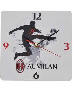 AC Milan Orologio da Parete in Plexiglass - Migliardi MI1520N