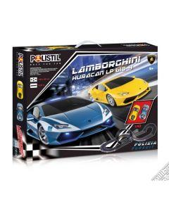 Pista Lamborghini Huracan Con 2 Veicoli 1:43