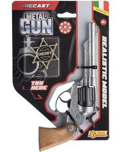Pistola in Metallo Alabama Try Me - Villa Giocattoli 61592