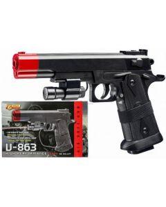 Pistola V-863 Laser Cal. 6 mm. - Villa Giocattoli 4863