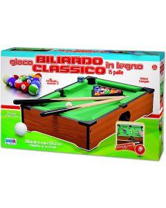 Biliardo Classico Legno - Ronchi Toys 78934