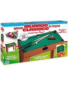 Biliardo Legno Montato 69x37x69 cm - Ronchi Toys 79657