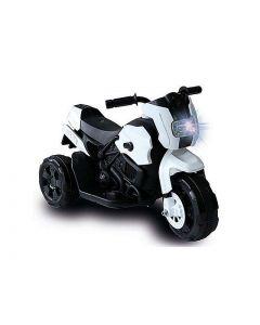 Moto Motard 6V Biemme Bianca