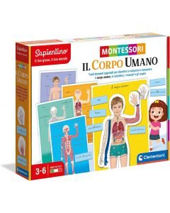 Sapientino Educativi Montessori Corpo Umano