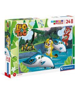 Puzzle Maxi Pz.24 Leo&tig