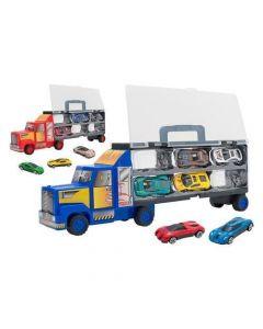 Camion Valigetta + 6 Auto Die Cast