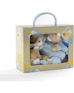 Plush & Company Babycare Orsetto Set 3pz