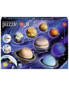 Ravensburger 11668 - Il Sistema Planetario - 3D Puzzleball