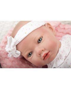 Arias Reborn Bambola Cm.38 Rosa