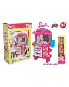 Grandi Giochi GG00516 - Barbie Cucina cm. 68 con Bambola