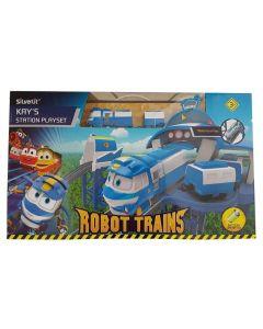 Rocco Giocattoli 80170 - Robot Trains Stazione Ferroviaria di Kay