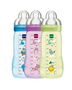 MAM Biberon Easy Active 330ml - COLORI ASSORTITI