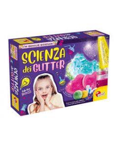 Liscianigiochi- I'm a Genius  Scienza dei Glitter, Multicolore, 77007