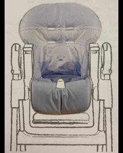 Italbaby - Copriseggiolone Universale in PVC Baby Re Azzurro