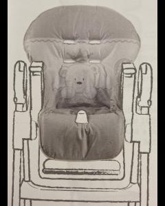 Italbaby - Copriseggiolone Universale in PVC Baby Re Tortora