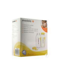 Medela Bottiglie per Conservazione Latte Materno 2pz da 250ml