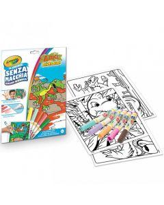 Crayola - Coloring Set Color Wonder Dinosauri