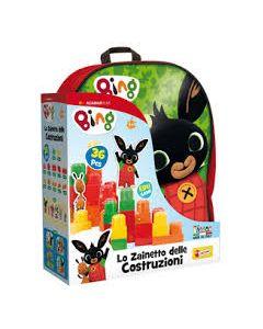 Lisciani Giochi- Bing Zainetto Costruzioni Baby  - 76611