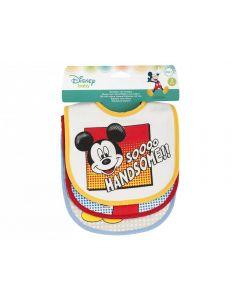 Lulabi Mickey - Bavaglini 3pz