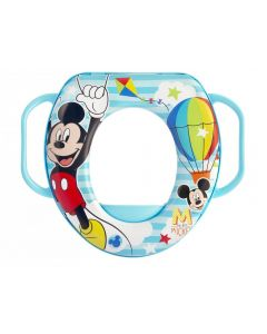 Lulabi Mickey - Riduttore WC Soft con Manici