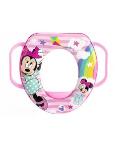 Lulabi Minnie Simply - Riduttore WC Soft con Manici