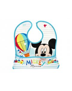 Lulabi Mickey Simply - Bavaglino con Tasca