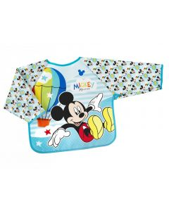 Lulabi Mickey Simply  - Bavaglino con Maniche