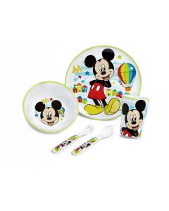 Lulabi Mickey Simply  - Set Pappa 5 pezzi