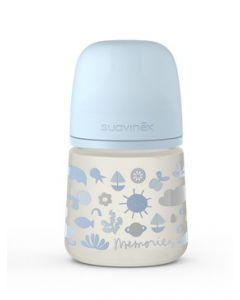 Suavinex Memories Biberon 150ml - Azzurro